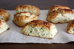 Ricotta & Scallion Scones | KitchenDaily.com