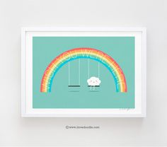 Wish you were here - art print - ilovedoodle - The visual art of Lim Heng Swee