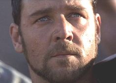Russell Crowe as Maximus;  Those sexy eyes and lips!!!!
