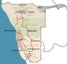 Topaz Self Drive around Namibia