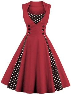 Round Neck Bowknot Hollow Out Plain Skater Dress - fashionMia.com