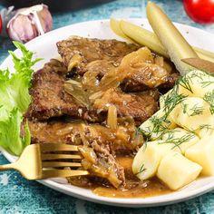 Steak, Pot Roast, Food, Ethnic Recipes, Carne Asada, Roast Beef, Essen, Steaks, Meals