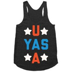 Yasss I'm a proud member of the USA! If you're proud to be an American and want to show off your fabulous pride! Flaunt it in this cute and patriotic shirt!