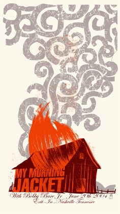 gigposter My Morning Jacket by Methane