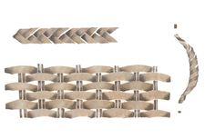 Wicker Weave Pattern Wall Stencil by DeeSigns