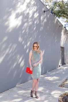 Caged Heels | Tory Burch Kira Purse | Aviators | Coordinated Set | Miami Blogger | Outfit Inspiration