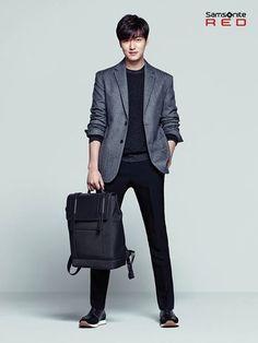 Lee Min Ho for Samsonite Red