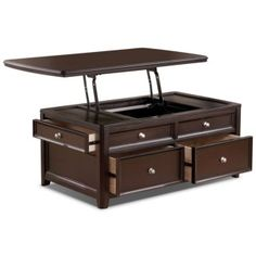 [Carlyle Coffee Table with Lift Top]