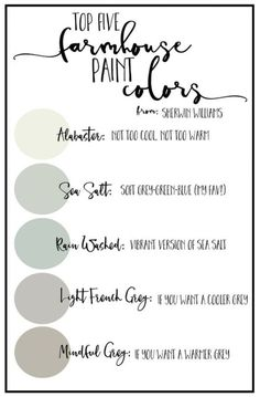 Good day! I love farmhouse paint colors right now and I'm sharing with you some palettes that might help if you are needing that perfect neutral color, or you want to make your home a little …