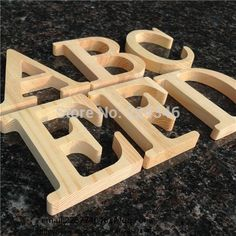 Wooden Letters A to Z Alphabet Home Decorations  Price: 2.99 & FREE Shipping   #ShopGetHome #AllthingsHome#Onlineshopping #Weloveonlineshopping #Stylishbedding #Fridgestickers