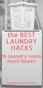 These laundry hacks have saved my clothes more than once over the years, and rescued the kiddos' duds from near-impossible stains. Give them a try.