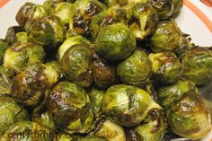 roasted brussels. ★★★★★ don't like brussels sprouts but ready to fill up on these supercarbs? ina garten is a genius! these are sooo good. only 4 ingredients, quick and easy!
