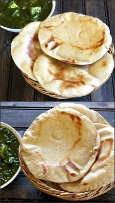 Wheat Naan is a soft and chewy, delicious and flavorful vegan flat bread recipe that is super easy to make and gets over in no time. #baking #bake #bread #flatbread #indian #vegan #vegetarian #healthy #diet #food #recipe