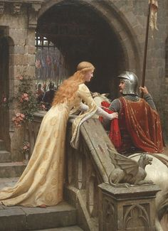 Leighton-God Speed! - Edmund Blair Leighton – Wikipedia