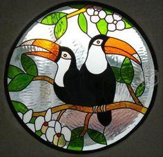 vitrales | Vitrales lampara vitral hecha