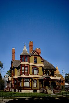The historic Hackley House in Muskegon, Michigan...