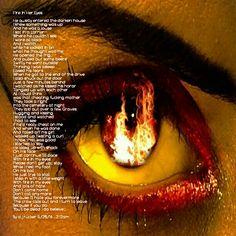 Fire In Her Eyes by d.j.rucker