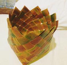 Palm basket Maldives, Palm, Basket, The Maldives, Hand Prints, Hamper