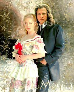 Monica & Juan Edith Gonzalez, Romance, Pop Culture, Nostalgia, Wedding Photos, Flower Girl Dresses, Tv, Couples, Wedding Dresses