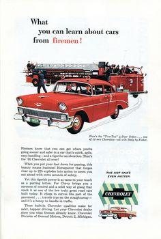 1956 Chevrolet Two-Ten Advertisement Readers Digest April 1956 | Flickr - Photo Sharing!