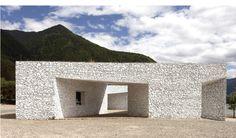 'niyang river visitor center' by standardarchitecture, linzhi, tibet