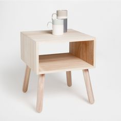 SIDE TABLE WITH COMPARTMENT - Botanical Collection - Bedroom | Zara Home United States of America
