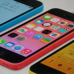 Apple Unveils $99 Low-Cost, Multi-Colored iPhone 5C