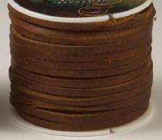 Kodiak Oil Tanned Latigo Lace, Leather Lace