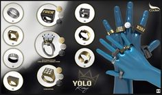 https://flic.kr/p/MmJnyv | CODEX_ Yolo  Rings ✯Gacha!✯ | Codex_                 ¤¸¸.•´¯`•¸¸.•..>> [ NEW RELEASES ] <<..•.¸¸•´¯`•.¸¸¤                 ██████████ ▌ ██ ▌ HAUS OF SWAG 2016 ▌██   ▌███████████  by WeDo SL Events.   ▌Date: October 21 to November 04   CODEX_ Yolo  Rings ✯Gacha!✯  ►7 Common (resizable by script)   ►3 Rare (resizable by script)  with HUD to change metals (Gold-Silver-Black)   - Unisex -  Photo:    www.flickr.com/photos/138425968@N02/29770651713/in/datepo.....