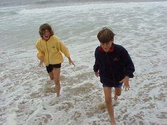 Santa Cruz, California, USA, 1999 (Fun in the surf)