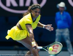Serena Williams at the 2016 Australian Open
