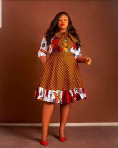 200 Ankara Styles For Women - Unique African Outfits, African clothing, African attire, African dresses Short African Dresses, Latest African Fashion Dresses, African Print Fashion, Ankara Fashion, Fashion Prints, Unique Ankara Styles, Ankara Styles For Women, Anna Campbell, Project Runway