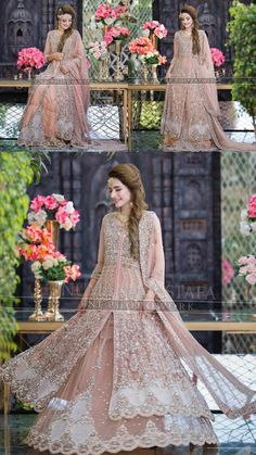 fnf photowork Source by ideas indian Pakistani Fashion Party Wear, Pakistani Wedding Outfits, Pakistani Wedding Dresses, Indian Outfits, Fancy Wedding Dresses, Asian Bridal Dresses, Party Wear Dresses, Pakistan Bridal, Walima Dress