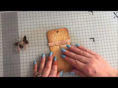 Part 5 Lets Make a journal Tags and Ephemera #junkjournaljunkies - YouTube