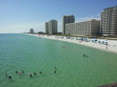Okaloosa Island, FL from the fishing pier