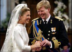The Royal Wedding between Prince Willem-Alexander and Princess Maxima.