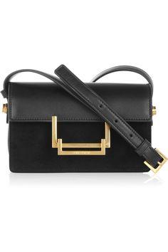8c99b973232e Saint Laurent - Lulu leather and suede shoulder bag