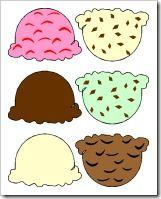 Fun ice cream activities