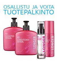 Kuukauden kauneuskysymys: tammikuu 2014. Osallistu ja voita Belonger-hiustuotteita pitkille hiuksille tai pidennyshiuksille.