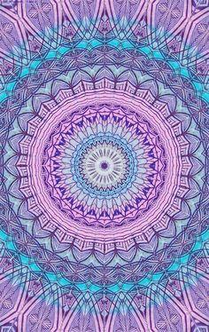 Mandala púrpura