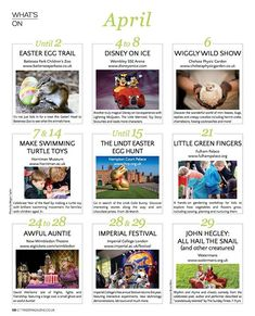 Easter may have come and gone very fast but there are still plenty of Easter themed things to do in The Big Smoke. Heres the Whats On page from our Spring issue with a selection of the best. Theres more on our website too.  And you know you can subscribe to receive the magazine hot off the press each quarter. See our site for more details.  #thingstodo #events #kids #london #whatsoninlondon #familytime #theatreforkids #theatre #activities #museums #disney #magazine #parenting #education…