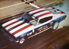 """Tom """"the Mongoose"""" McKewen Plymouth Barracuda AA/FC Funny Car"""