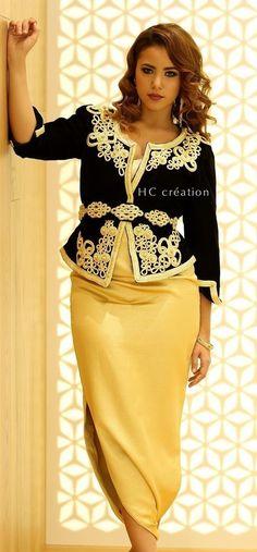 Algerian karako dress Fashion 101, Womens Fashion, Arabic Dress, Traditional Outfits, African Dress, 15 Avril, Skirts, Clothes, Sequin Skirt