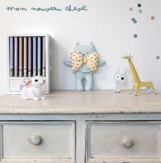 Le Chevet // #papertoy #doudou #youttle #happyzoé #babyroom