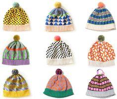 Tomboy Style: UNIFORM | All Knitwear Winter Hats