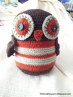Free Pattern. Ravelry: Lucy's Owl pattern by Little Red Fox Yarns