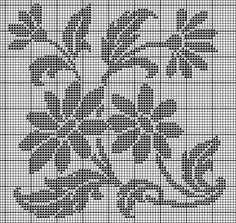 "Photo from album ""nov 2016 6 on Yandex. Crochet Bedspread Pattern, Crochet Curtains, Crochet Tablecloth, Crochet Doilies, Crochet Patterns, Cross Stitch Tree, Cross Stitch Flowers, Cross Stitch Patterns, Filet Crochet Charts"