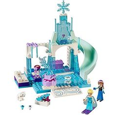 LEGO l Disney Frozen Anna & Elsa's Frozen Playground 10736 Disney Princess Toy Build your own Ice Castle with two levels a slide treasure chest snowball catapult and a rotating fountain! Disney Princess Toys, Princess Gifts, Frozen Birthday Party Supplies, Frozen Party, Lego Disney, Disney Toys, Anna Frozen, Disney Frozen, Toys For Girls
