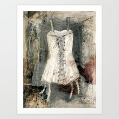 corsage-collage Art Print by Lamade - $15.60