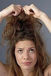 How to Detangle Matted Hair How to Detangle Severely Tangled Hair. Down Hairstyles, Straight Hairstyles, Girl Hairstyles, Growing Out Short Hair Styles, Curly Hair Styles, Matted Hair, Tangled Hair, Hair Knot, Hair Remedies